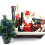 Cesta navideñaMantén la costumbre y regala una bonita cesta por navidad.