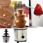 Fuente de chocolateEndulza las reuniones familiares con una fuente de chocolate. ¡Deliciosa!